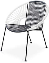 Mexa Ixtapa Lounge Chair - Gray/White