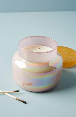 Anthropologie Home Iridescent Lagoon Candle