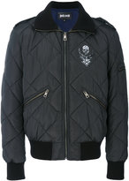 Just Cavalli quilted bomber jacket - men - Polyester - 46