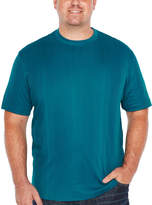 Claiborne Short Sleeve T-Shirt-Big and Tall