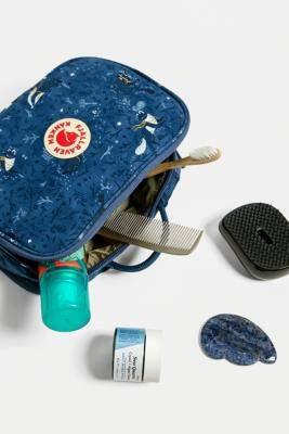 Fjallraven Kanken Art Print Toiletry Bag - blue at Urban Outfitters