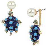 Betsey Johnson BETSEY AND THE SEA TURTLE EARRINGS