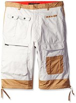 Sean John Men's Big and Tall Color Block Flight Short