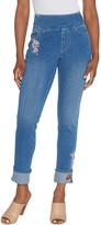 Belle By Kim Gravel Belle by Kim Gravel Flexibelle Pull On Cuffed Ankle Jeans