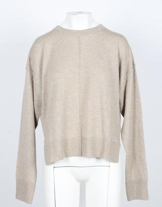 NOW Hazelnut Cashmere and Wool Women's Sweater