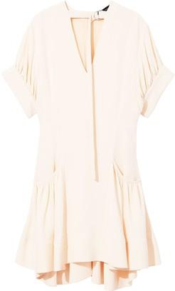 Proenza Schouler crepe flared dress