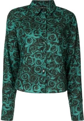 agnès b. Rose-Print Shirt