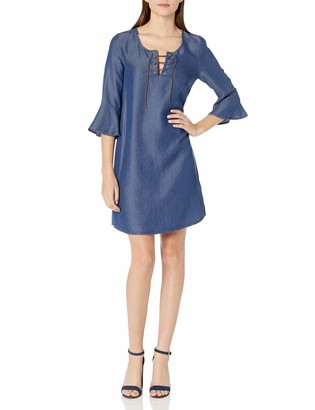 James & Erin Women's Laced Front Shift