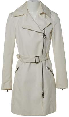 Bally Ecru Cotton Trench coats