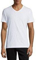 Vince Slub Jersey V-Neck T-Shirt, White