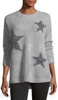 philosophy Metallic-Stars Crewneck Sweater