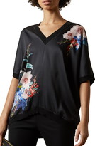 Ted Baker Sophiey Jamboree Floral Front Top