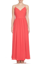 1 STATE 1.State Lace-Up Back Maxi Dress