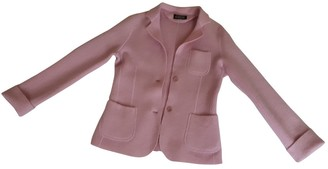 Aspesi Pink Wool Jacket for Women