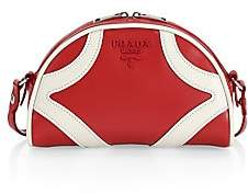 Prada Women's Soft Leather Bowling Crossbody Bag