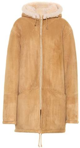 Yeezy Suede and shearling jacket (SEASON 5)