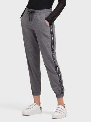 DKNY Commuter Jogger With Logo Taping