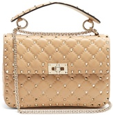 Valentino Rockstud Spike medium quilted-leather shoulder bag