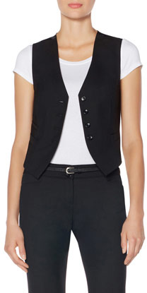 The Limited Black Collection Tuxedo Vest