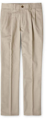 Izod Exclusive Boys Pleated Pant Preschool/Big Kid