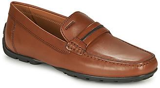 Geox U MONER men's Loafers / Casual Shoes in Brown