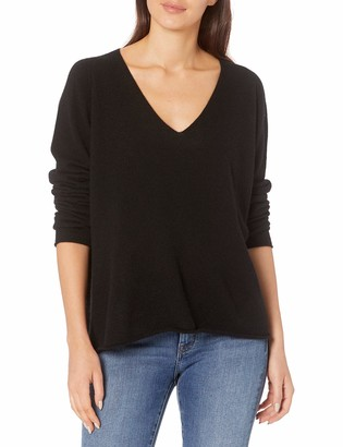 Majestic Filatures Women's Long Sleeve V-Neck Pullover