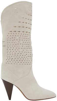 Isabel Marant Lurrey heeled ankle boots