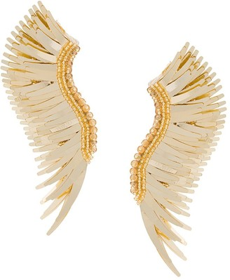 Mignonne Gavigan Long Wings Beaded Earrings