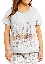 Sleep Sense Plus Giraffe Crowd Sleep Top