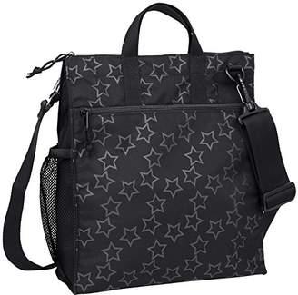 Lassig Casual Star Buggy Bag (Reflective Star Black)