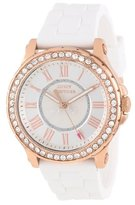 "Juicy Couture Women's 1901052 ""Pedigree"" Crystal-Accented Rose Gold Watch"