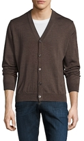 Toscano Wool Solid Cardigan