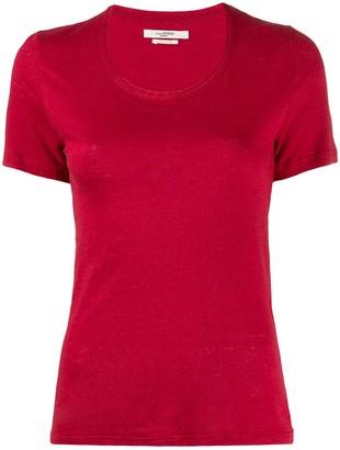 Etoile Isabel Marant U-neck slim fit T-shirt