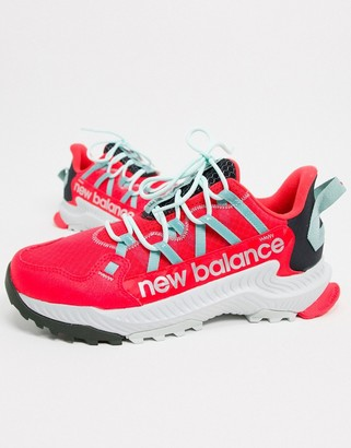 New Balance Running Shando trainers in pink