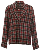 Haider Ackermann checked shirt - men - Cotton/Wool/Alpaca - S