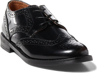 Ralph Lauren Leather Wing-Tip Oxford Shoe