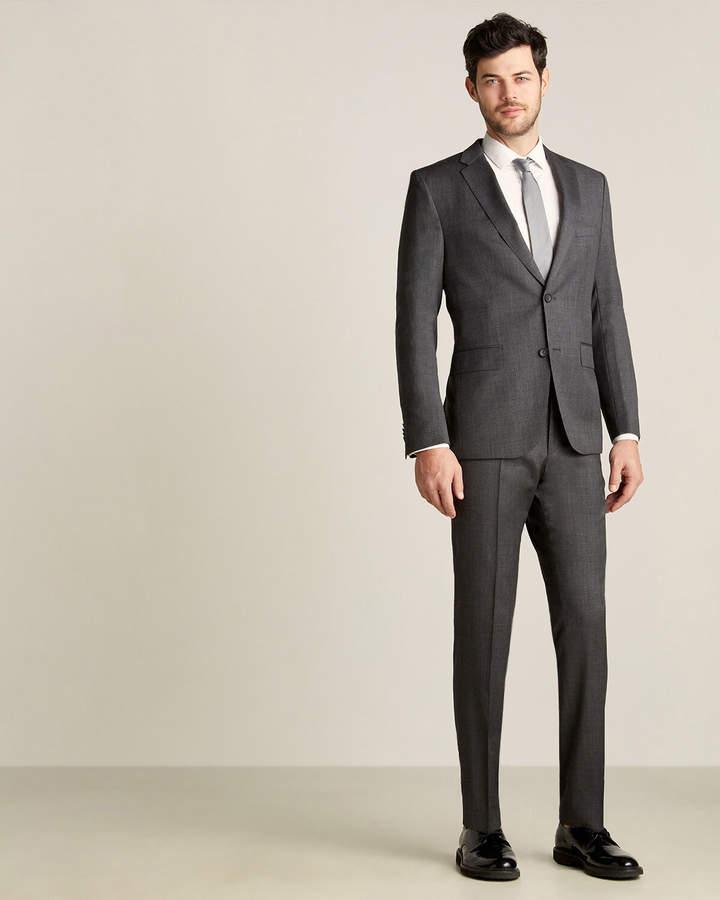 HUGO BOSS Two-Piece Grey Super 100 Suit