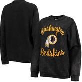 Redskins G Iii Women's G-III 4Her by Carl Banks Black Washington Comfy Cord Pullover Sweatshirt