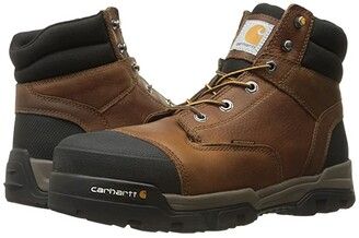 Carhartt 6 Ground Force Waterproof Composite Toe Work Boot (Brown Oil Tanned Leather) Men's Work Lace-up Boots