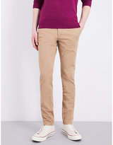 Tommy Hilfiger Slim-fit Mid-rise Twill Chinos