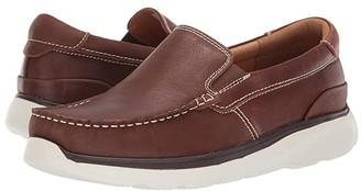 Propet Otis (Navy Full Grain Leather) Men's Slip on Shoes