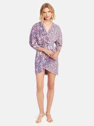 IRO Firenze Wrap Mini Dress