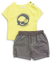 Absorba Lemon Tee and Shorts