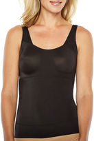 NAOMI AND NICOLE Naomi And Nicole Tummy-Shaping No Side-Show Wonderful Edge Firm Control Shapewear Camisole-7504