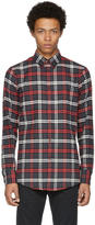 DSQUARED2 Tricolor Button-Down Check Shirt