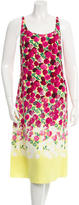 Marc Jacobs Sleeveless Floral Midi Dress