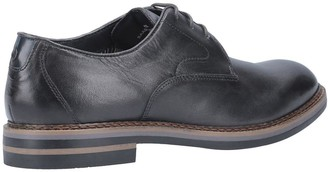 Base London Wayne Lace Up Derby Shoes - Black