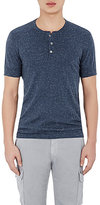 ATM Anthony Thomas Melillo MEN'S SPECKLED BRUSHED HENLEY