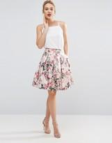 Ted Baker Blossom Jacquard Skirt