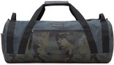 Blue and Camo D-running Duffle Bag